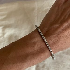 Petite Diamond Bangle Bracelet